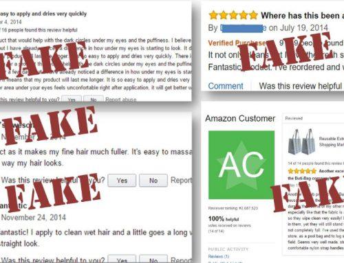 """Vạch trần những """"review giả"""" trên Amazon"""